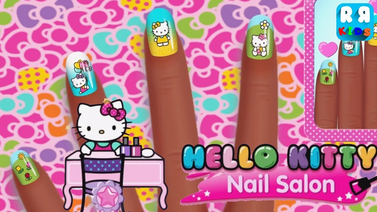 Hello Kitty Nail Salon By Budge Studios Epic Games For Girls