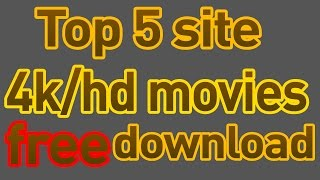 Top 5 site  movie(bollywood,panjabi,hollywood in hindi)