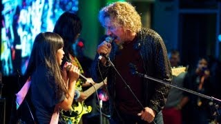 Sammy Hagar and Little Kids Rock students perform Stand By Me