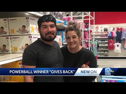 Pat McMahon - Powerball Winner Surprises Mom with Gift Card - The Good Stuff