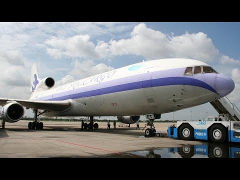 L1011 Cockpit  Worlds First L-1011 Freight Dog!