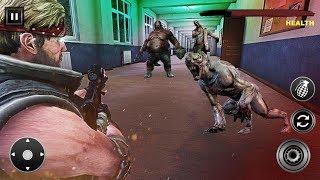 Ultimate Zombie Shooting War - Last Man Survival Android Gameplay