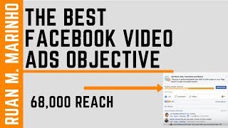 Facebook Video Ads Objective - Get Thousands Of Views