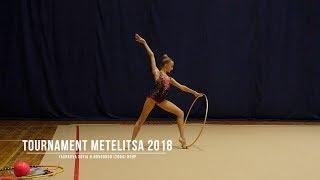 Яшкова София Н.Новгород (2004) Обруч Rhythmic Gymnastics Tournament Metelitsa 2018
