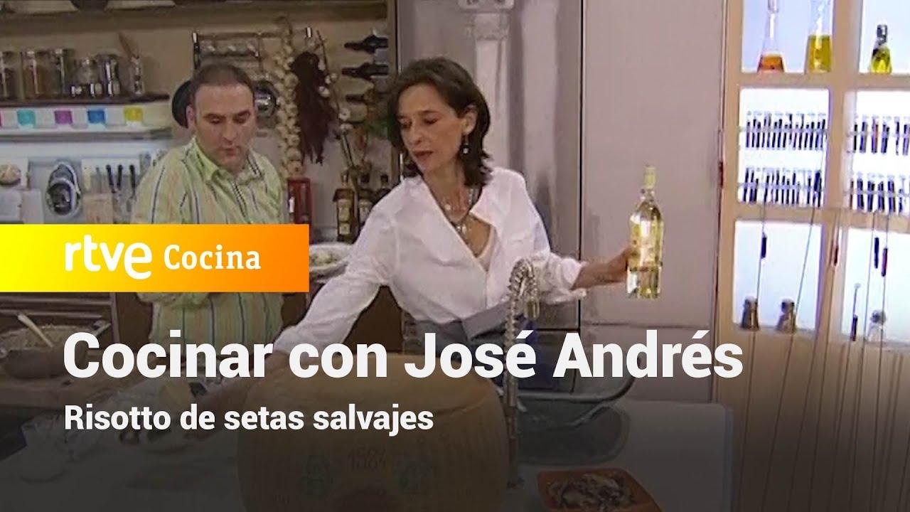 Risotto de setas salvajes - Vamos a cocinar con José Andrés   RTVE Cocina