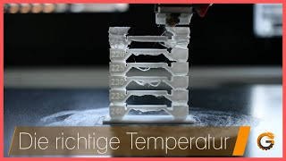 3D Drucker: Die richtige Filament Temperatur dank Temp Tower / Cura Tutorial deutsch | China-Gadgets