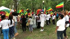 Ethiopian people party at Jacksonville Florida