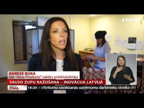 Sauso zupu ražošana – inovācija Latvijā