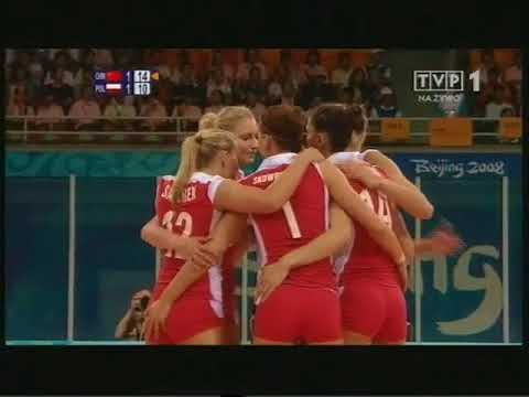 Olympic 2008 volleyball Poland - China Set 3