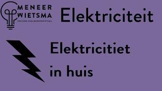 Natuurkunde uitleg Elektriciteit 15: Elektriciteit in huis