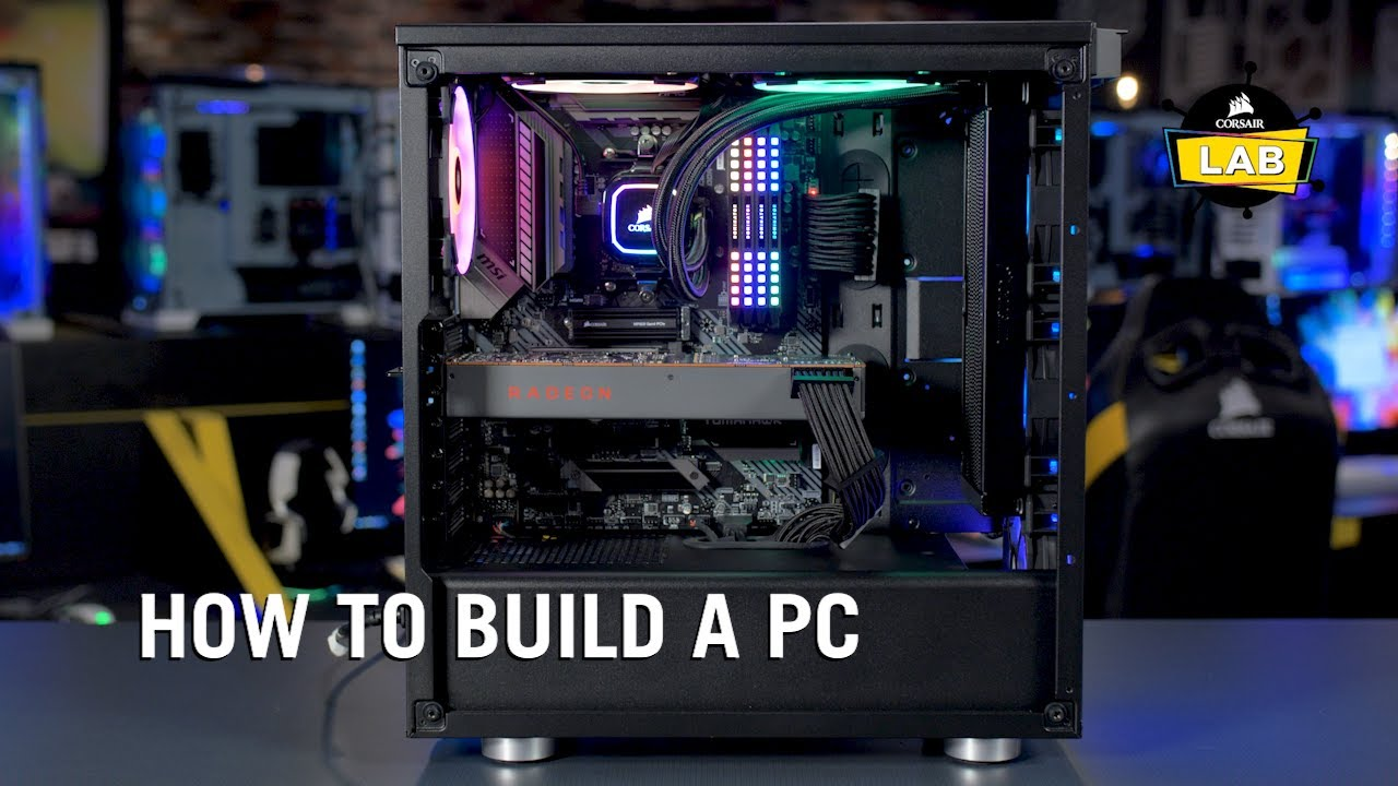 Building a PC with CORSAIR Components (2020) - YouTube
