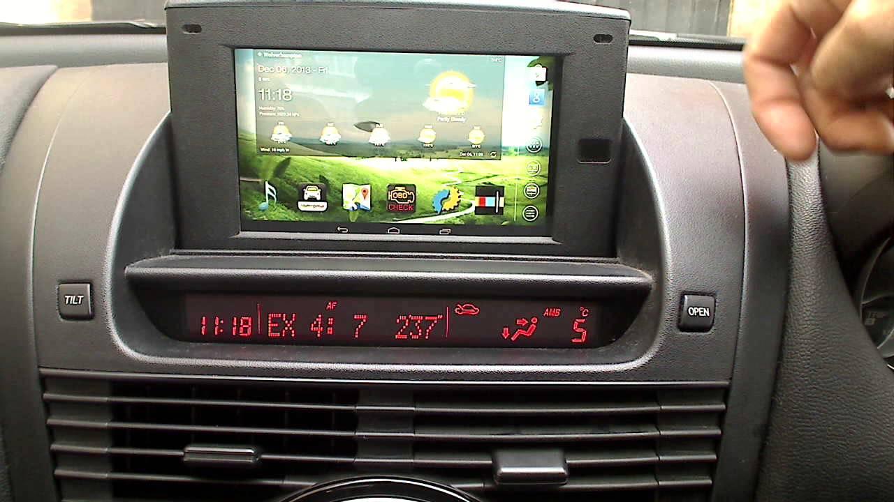 Rx8 Tablet Carputer Nexus Conversion Youtube