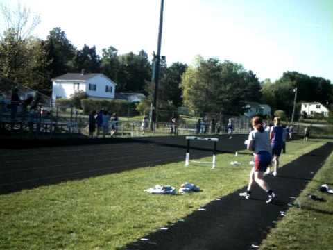 Messalonskee high school Track 4x1 anchor runner