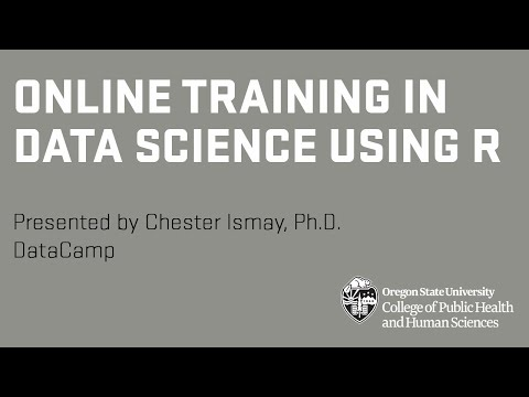 Online Training in Data Science Using R