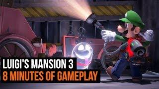 Luigi's Mansion 3 - 8 minutes of gameplay