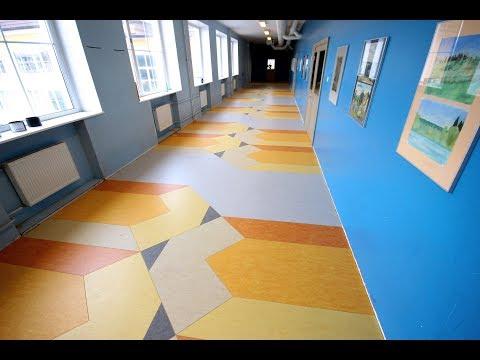 Pencil - the floor of Tallinn Art Schools' applied art section