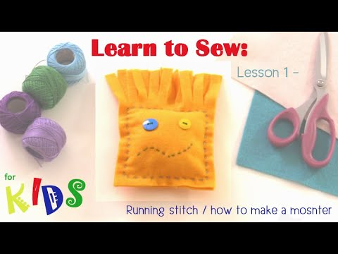 Learn to Sew with Debbie Shore, Kids! Lesson 1