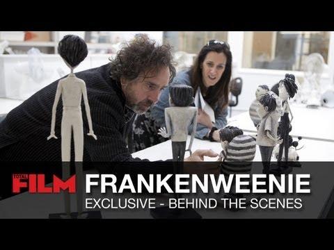 Exclusive Behind The Scenes On Frankenweenie Youtube