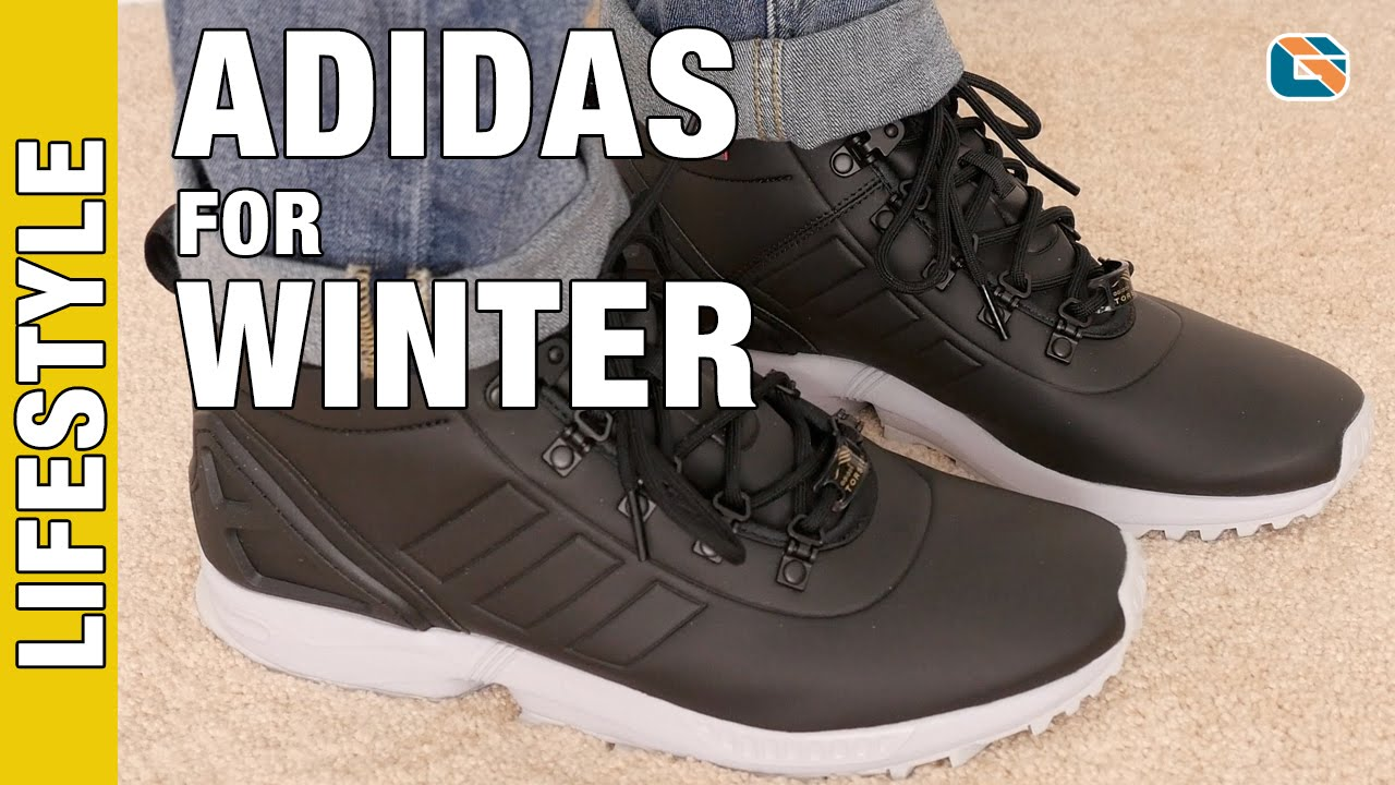 9b7b60e12c5f0 Adidas ZX Flux Winter Boots S82928 Review - YouTube