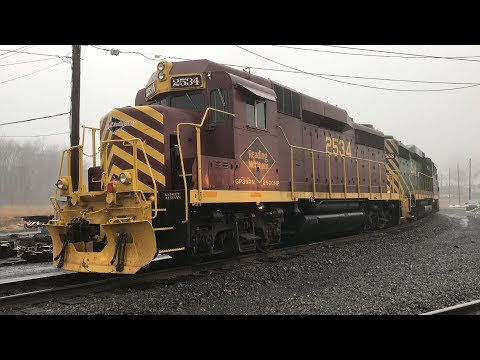 Reading & Northern -  Pittston Yard ** UP CLOSE**