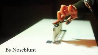 Fingerboard Grinds Slides Tricks List