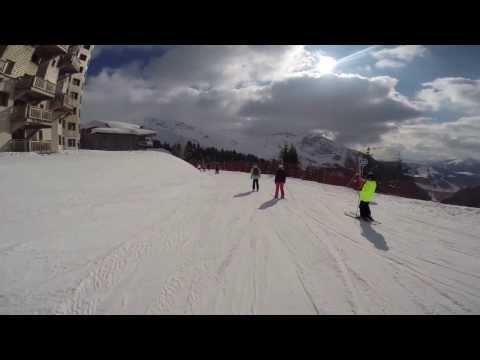 Skiing France 2014 | GOPRO HERO 3+ HD