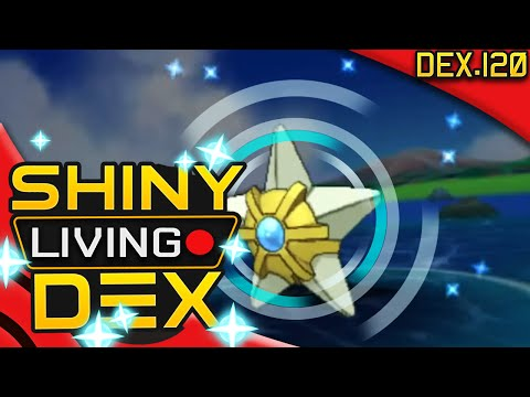 SHINY STARYU!! EPIC 5% CHANCE!! Live Reaction! Quest For Shiny Living Dex #120 | Pokemon ORAS
