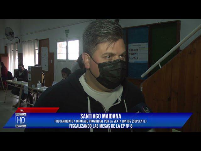 Santiago Maidana  Fiscalización Esc  Nº 8