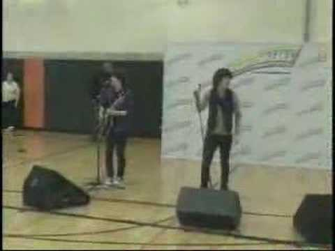 Jonas Brothers Surprise Concert at Kimball Middle School