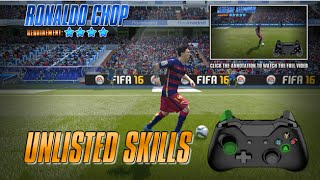 Fifa 16 Unlisted Skills Tutorial [Xbox 360, Xbox One, PC]