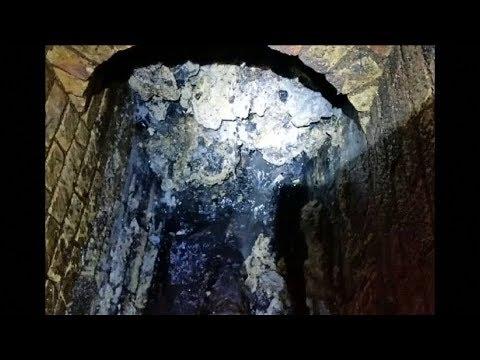 Relativ Monster-Fettberg verstopft Londoner Abwasserkanal - YouTube RM26