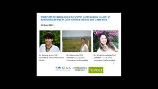 Understanding the COP21 Contributions in Light of Renewable Energy in Latin America