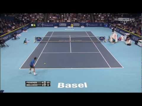 Roger Federer - Best Points @ Basel '12 - (HQ)