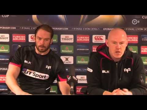 AWJ & Tandy from the Ospreys Post-match | Rugby Video Highlights