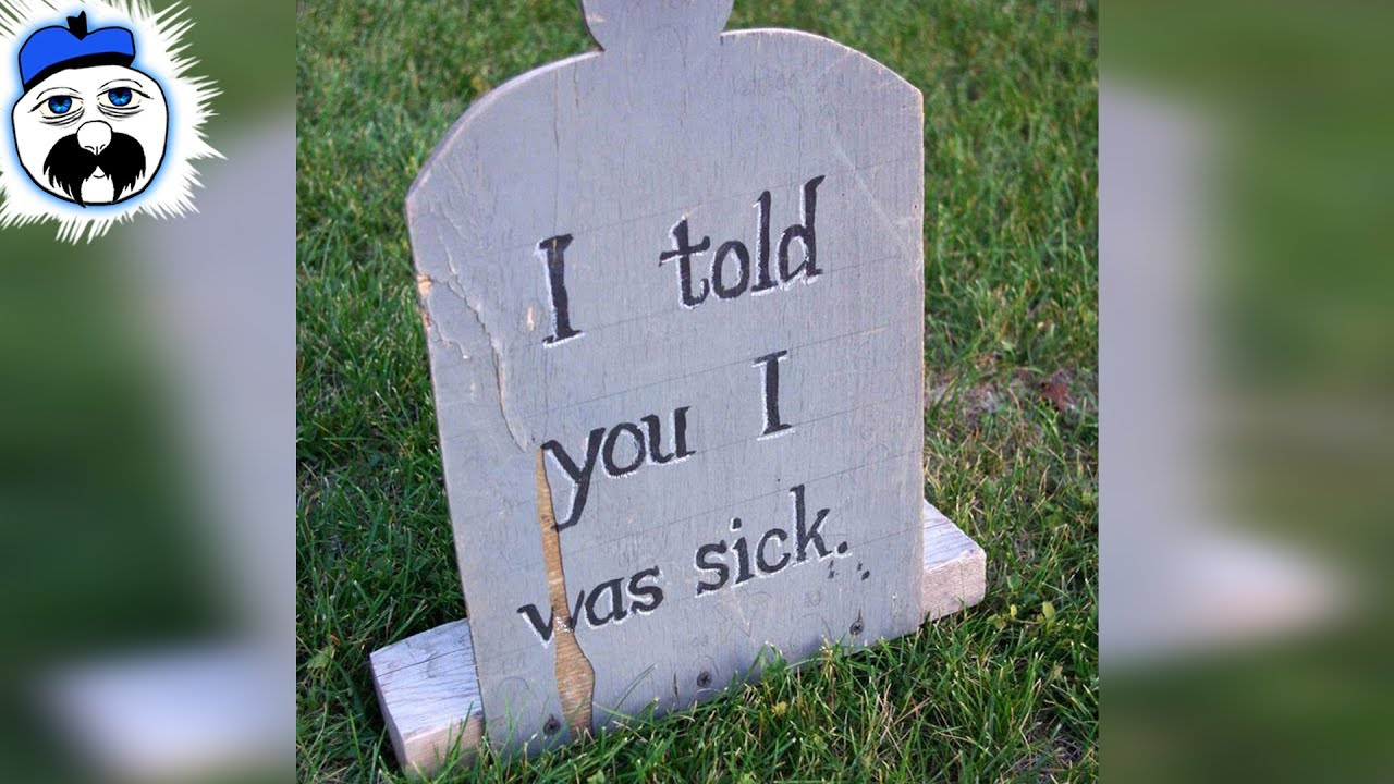 15 Most Ridiculous Tombstone Inscriptions Ever - YouTube