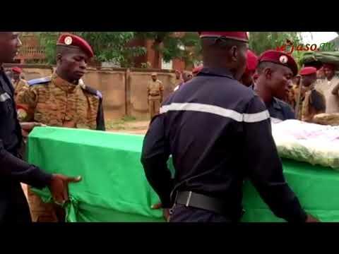 Terrorisme : Les Trois Militaires Tués à Inata Inhumés