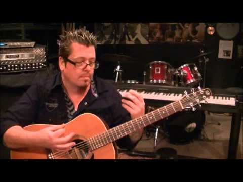 Eric Church - Without You Here - Acoustic Guitar Lesson by Mike Gross