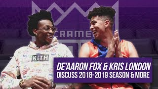 De'Aaron Fox & Kris London discuss how the Kings improve, his All-Time NBA Starting 5, & more