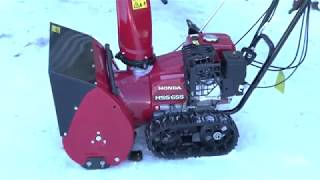 видео Снегоуборщик Honda HS622K1ETS