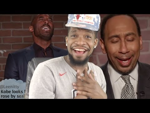 LMFAOO ROASTED ME & STEPHEN A SMITH! MEAN TWEETS NBA EDITION REACTION!