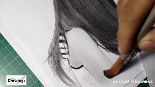 SELENA GOMEZ & JUSTIN BIEBER PENCIL DRAWING Tutorial