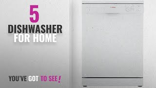 Top 10 Dishwasher For Home [2018]: Bosch 12 Place Setting Dishwasher (SMS40E32EU, White)