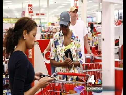 First Lady Michelle Obama Shops at Target...