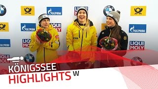 German trio flies flag high on home soil | IBSF Official