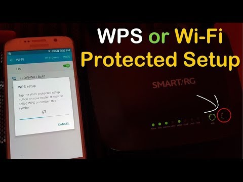 Get WiFi Access Without Password using WPS button - BlogTechTips