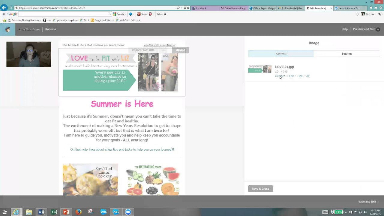 How to edit a template in mailchimp youtube how to edit a template in mailchimp maxwellsz