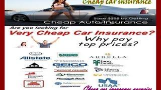 Cheap Car Insurance Agencies - Insurance