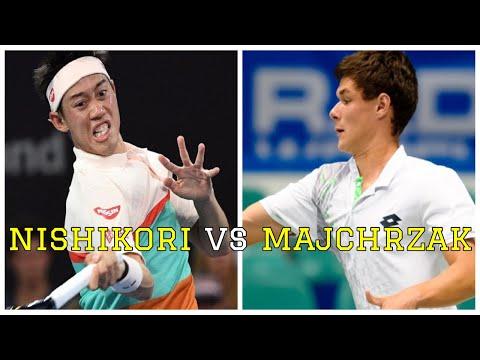 Kei Nishikori vs Kamil Majchrzak Highlights