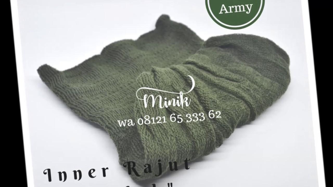 Wa 08121 65 333 62 Inner Rajut Anti Pusing Ciput Bandana Llinner Hijab