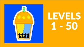 Bubble Tea! Game Walkthrough Level 1-50